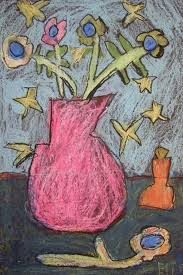 Here presented 43+ easy oil pastel drawing images for free to download, print or share. Oil Pastel Still Life Inspired By Vincent Van Gogh Teachkidsart