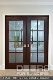 interior clear glass door. Custom Wood Interior Doors. Double Clear Glass Door For With True Divided Grills, R