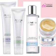 Avon Skin Care Chart 5 Step Skincare Routine With Avon Anew Cosmetics For