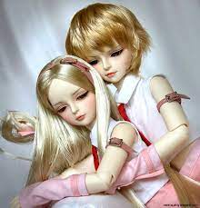 very cute doll