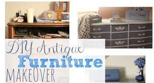 diy furniture makeover. DIY Antique Furniture Makeover: Before \u0026 After Pictures « Principles Of Increase Diy Makeover