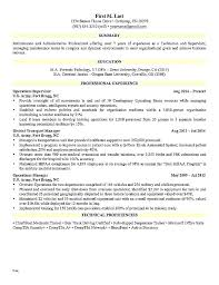 Resume Military To Civilian Mazard Info