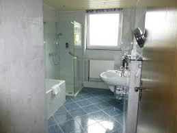 hotel zwei mohren extra large bath with separate bathtub and shower
