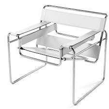 marcel breuer wassily chair wassily chair pu leather white