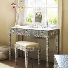 Silver Bedroom Vanity Furniture Simple And Neat Picture Of Furniture For Girl Bedroom