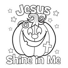 Small Picture Jesus Shine In Me Coloring Picture For Halloween church