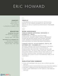 resume for experienced professional finest resume samples for experienced finance professionals
