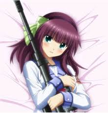 angel beats merchandise figurines artbooks dvds etc where did the clothed version come from i wonder