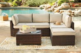 outdoor sectional. Brilliant Sectional Loughran 4 Piece Outdoor Sectional Set  MJM Furniture And I