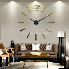Small Picture Decorative Large Contemporary Wall Clocks All Contemporary Design