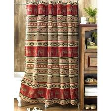 log cabin shower curtains rustic sierra chenille suede shower curtain reclaimed furniture shower curtain log cabin