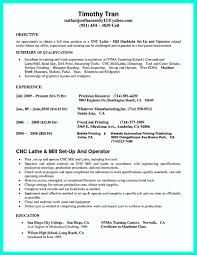 Cnc Programmer Resume International Experience Resume Cnc Machinist