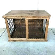 pet crate furniture. Custom Dog Furniture Kennel Table Crate Sliding Door Pet