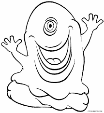 Small Picture Printable Alien Coloring Pages For Kids Cool2bKids Space
