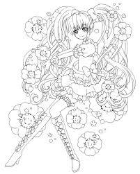 乙女線画3の画像ゆきこのブログ Ameba アメーバ Anime ぬり