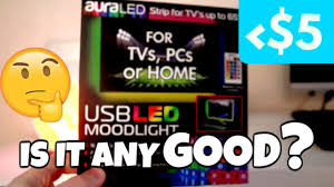 Rgb Lights Walmart 5 Led Light Strip Moodlight From Walmart Review Is It Any Good