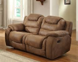 Reclining Living Room Set Hoyt 2pc Double Reclining Sofa Set In Brown Sofa And Loveseat