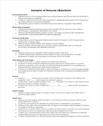 Resumes Objective It Resume Objective Examples Emelcotest Com