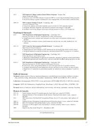 resume template mit resume tips and samples