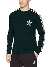 Adidas Mens Shirt Size Chart Adidas Mens Originals Long Sleeve Pique Tee