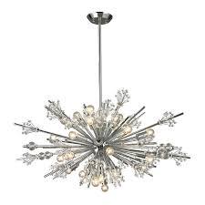 living exquisite crystal sputnik chandelier 42 dewsbury 24 light crystal sputnik chandelier