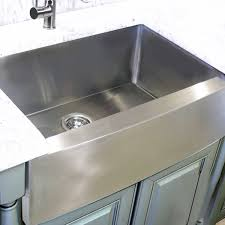 30 inch stainless steel farmhouse sink. Stainless Steel Farmhouse Apron Sink For 30 Inch