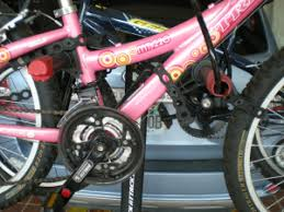 How to put womens and kids frames on your bike rack without adapters