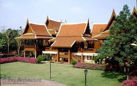 thai style home plans house