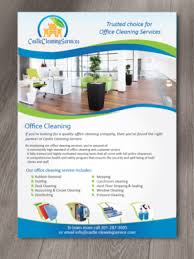 Commercial Flyers 29 Modern Flyer Designs Office Cleaning Flyer Design Project For A