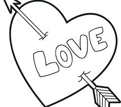 Free Heart Coloring Pages For Teenagers Valentine Page