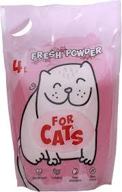 <b>FOR CATS наполнитель силикагелевый</b> Fresh Powder | Интернет ...