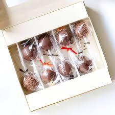 Gift Box Of Eight Chocoholic Cake Pops By The Baking Tree