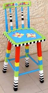 Image Hand Painted Love This Funky Chair Whimsical Painted Furniture Funky Furniture Hand Painted Furniture Kids Onecreativemommycom 253 Best Painted Childrens Furniture Images Children Furniture