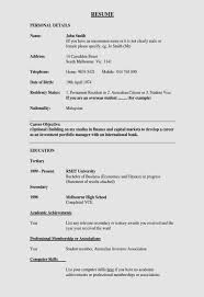 How To Create Resume Format How To Make Resume Template