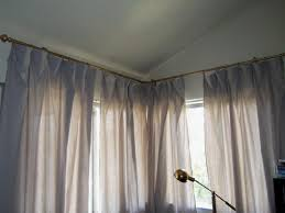 bay window curtain rods target curtain rods target double dry rod