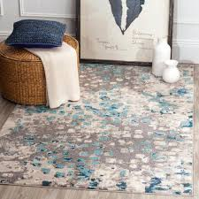 6 ft round rug. 10 Ft Round Rug Foot Area Rugs Clearance Blue 6 Feet