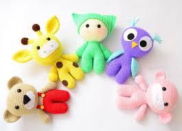 Crochet Animal Patterns Awesome Amigurumi Crochet Patterns Baby And Animal Friends Crochet Etsy