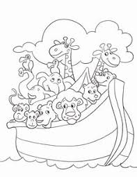 Small Picture Noahs ark after the flood church coloring pages Pinterest