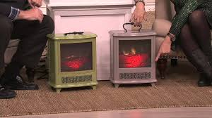 Duraflame Portable Stove Heater w/Handle & Flame Effect on QVC ...