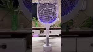 Vợt bắt muỗi kiêm đèn bắt muỗi tự động - Pin sạc cao cấp 1200 mah 💚An toàn  khi sử dụng 💚 Free ship - YouTube