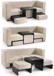 Love Couchcoffee Tableottoman Wonder If This Could Somehow Delectable Smart Furniture Design