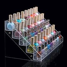 Lipstick Display Stands Acrylic Nail Polish Display RackTEERFU 100 Tier Nail Holder Storage 94