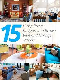 blue brown living room ideas
