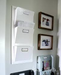 white wall pocket organizer very useful and functional all made for free with s wood white