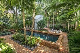 space is not a constraint for a tranquil tropical poolscape design craig reynolds landscape