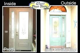 front door oval glass inserts entry replacement doors insert