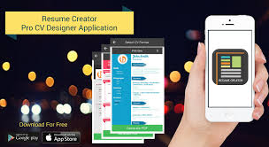 App Resume Resume Creator Application Create A Professional Looking Cv