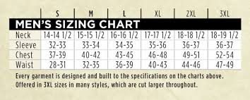 Browning Hells Canyon Size Chart Hero Fit