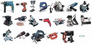 power tools list. 13 \u20ac power tools list e