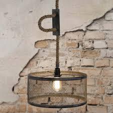 Grijze Industriele Hanglamp Santa Simba Lumz